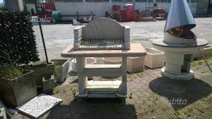 Barbecue artigianale in ferro da esterno posot class - Barbecue da esterno ...