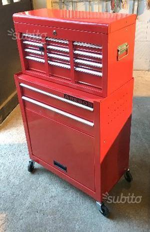 Carrello porta attrezzi utensili con cassettiera