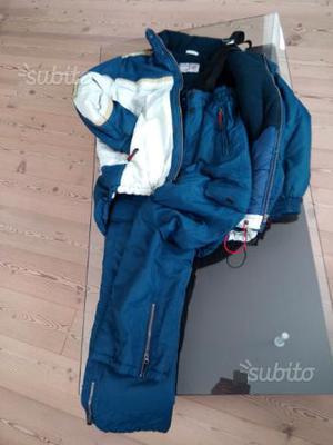 Giaccone e pantalone da neve marca astrolabio