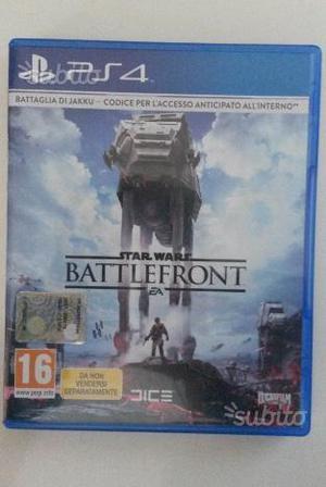 Gioco per Ps4 Star Wars Battlefront