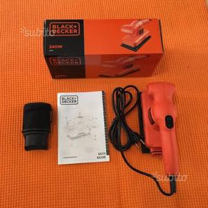 Levigatrice elettrica Black&Decker KA310-QS NUOVA