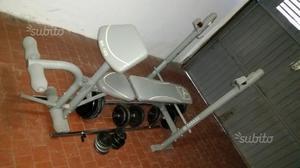Panca pesi palestra squat