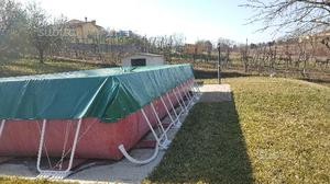 Piscina laghetto esterna di m 8 x 4 ottime posot class for Pompa laghetto esterna