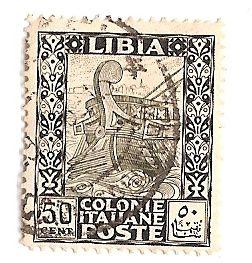 Colonie Italiane LIBIA 50 centesimi