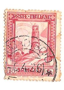 Colonie Italiane SOMALIA 20 centesimi