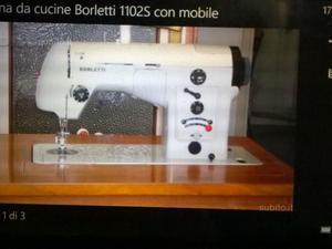Macchina cucire borletti a pedale posot class for Pedale elettrico per macchina da cucire