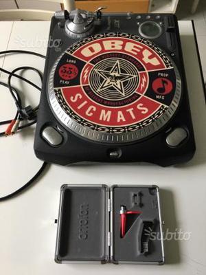 Numark ttx + ortofon scratch +control vinyl