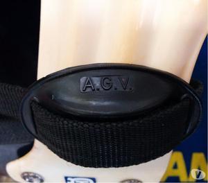 Stivali Alpinestars anni 70'+Casco AGV vintage
