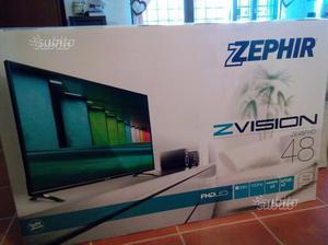 "Televisione TV 48"" ZEPHI FULLHD HDMI USB DVB NUOVO"