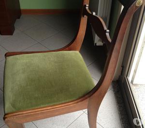 Vendesi tavolo rotondo con 6 sedie