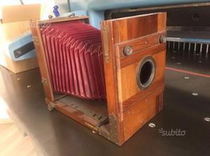 Banco ottico legno - inizio