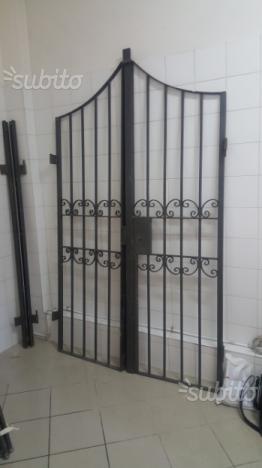 Cancello di ferro per porte esterne