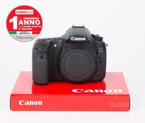 Canon 60D 28mila scatti +1 ANNO DI GARANZIA