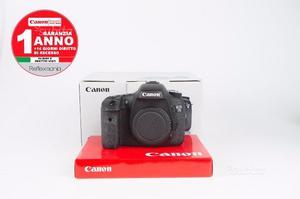 Canon 7D 19mila scatti +1 ANNO DI GARANZIA