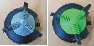 Irrigatore Rotante 3 Braccia per Irrigazione 2pz