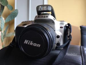 Macchina Reflex Nikon f-50 con obiettivo originale