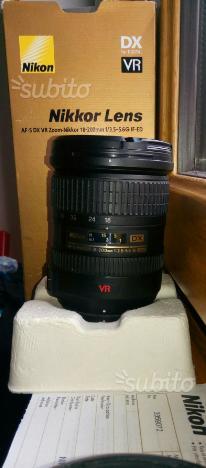Obiettivo Nikon  vr DX