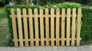 Steccato in legno nuovo mai usato