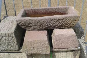 Vaschette in pietra arenaria
