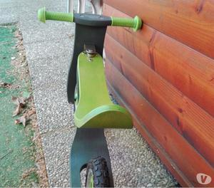 Bici di legno senza pedali