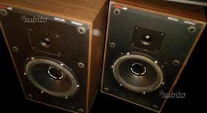 Coppia CASSE acustiche BOSTON A60 + 2 supporti