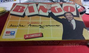 Gioco in scatola nuovo con cellophane Bingo