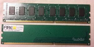 Memoria ram 2gb pc desktop dimm ddr3 pc