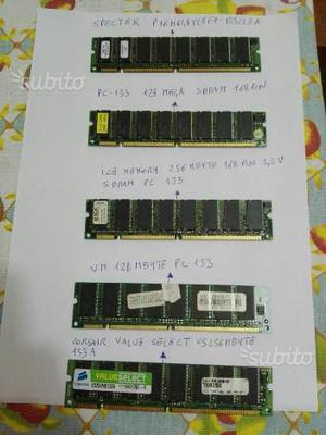 Memorie ram per pc e notebook
