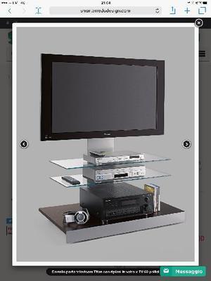 Porta televisore posot class - Porta televisore in vetro ...