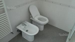 Sanitari wc bidet lavabo champagne beige crema posot class - Costo water bagno ...