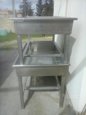 Gambe in acciaio per creare tavoli di  Posot Class
