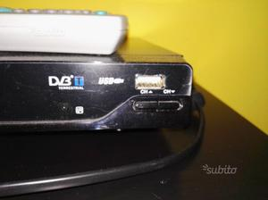 Televisore 21 pollici con decoder con presa USB