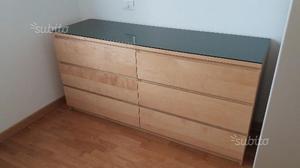 Cassettiera legno / mobile per tv