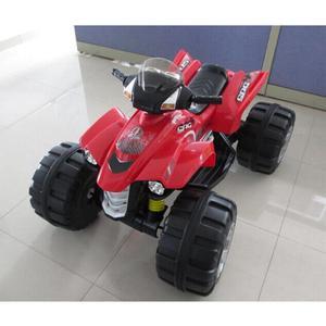 Quad Elettrico Moto Rosso 12v Per Bambini 1 Posto