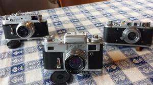 3 macchine fotografiche russe