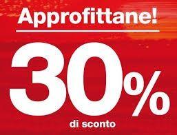 30% di SCONTO su tariffe BASE - ECONOMY - SUPERECONOMY di