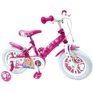 Bicicletta Barbie Per Bambina 12� 2 Freni E Ruote