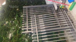 Cancello e ringhiera in ferro zincato