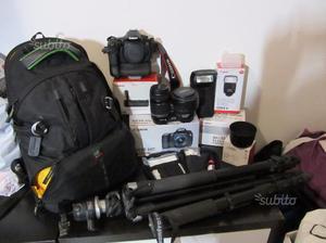 Canon Eos 60D + 2 Obiettivi + vari accessori