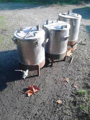Cisterne in acciaio