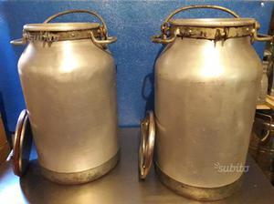 Contenitori per latte/olio in alluminio