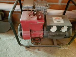 Generatore con motore a scoppio