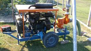 Motopompa irrigazione