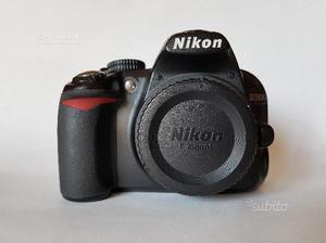 Nikon D Fotocamera digitale usata (body only)