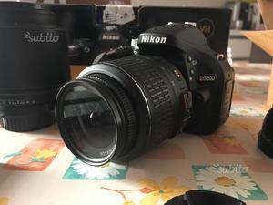 Nikon D + accessori