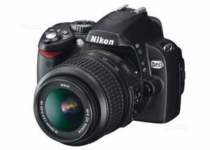 Nikon D60 con Obiettivi vr 50mm mm