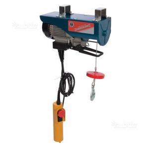 Tirfor paranco argano manuale fervi kg posot class for Paranco elettrico usato