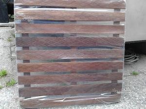 Pedana antiscivolo per doccia esterna in legno  Posot Class