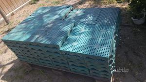 73 piastrelle in plastica per campeggio posot class