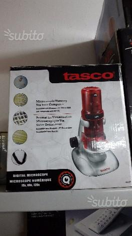 Tasco, Microscopio digitale Mikroskop, Rosso (rot)